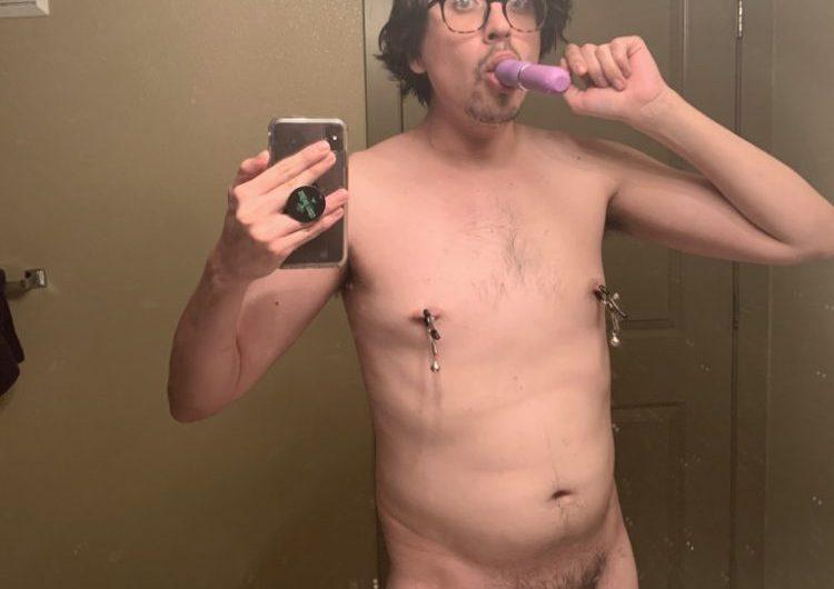 Exposed sissy faggot slut