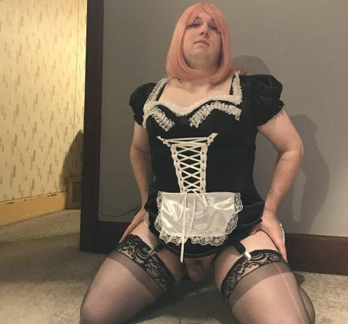 Sissy Jordan wants to become a famous cock slut