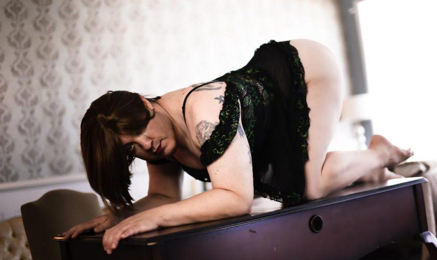 Cock sucking, anal loving, cum drinking sissy slut loves public humiliation