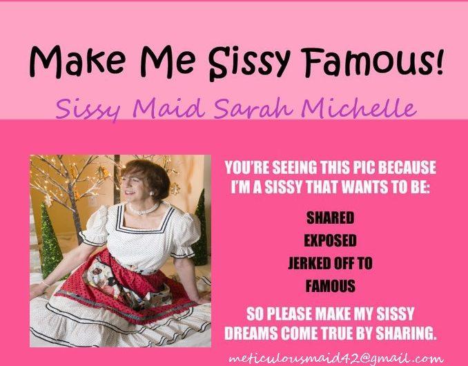 Sweet Sissy Maid wants to serve