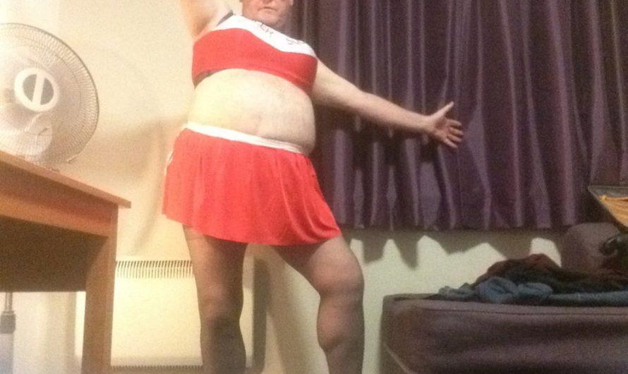 Sissy Rosie Cheerleading