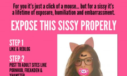 Addicted to Sissy Exposure