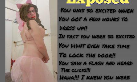 Sissy Fairy Exposure