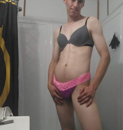 Clint craves sissy humiliation and exposure
