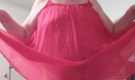 Dancing and prancing around like a sissy