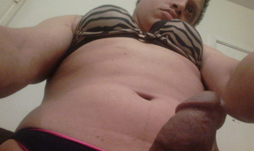 Ugly Sissy Billy: This happens when you have a small black cock