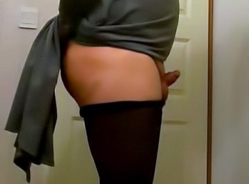Sissy Jamie has a matching clit dick